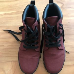 Dr Martens Maelly canvas boot size 7
